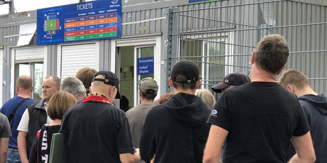 Sonder-Vorverkauf für Auswärtsspiel beim TSV 1860