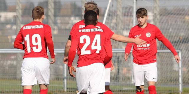 U19: SVWW mit Kantersieg im Nachholspiel
