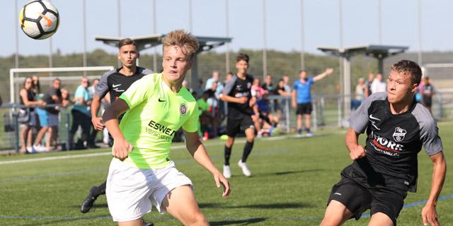 U19: SVWW erfolgreich beim Nachsitzen vor dem Ligagipfel