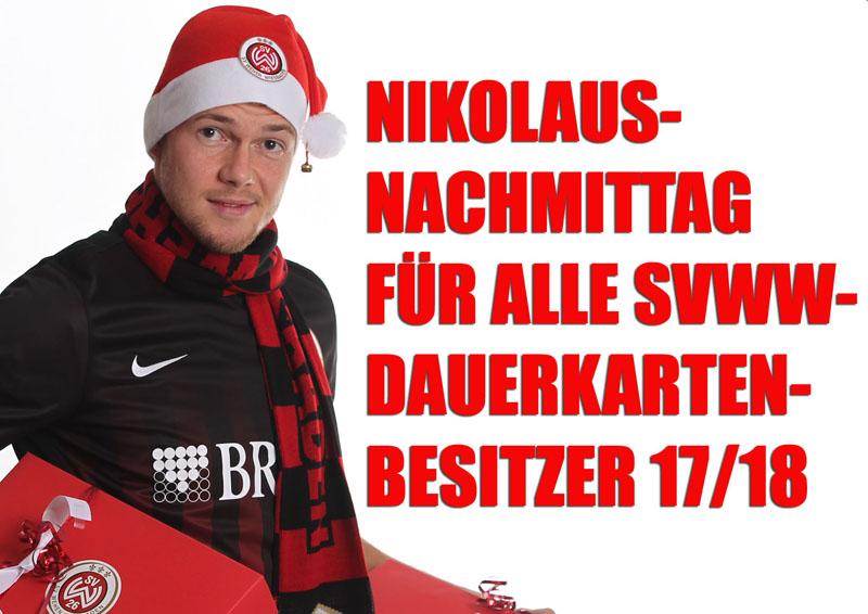 Nikolaus-Nachmittag für Dauerkarten-Inhaber