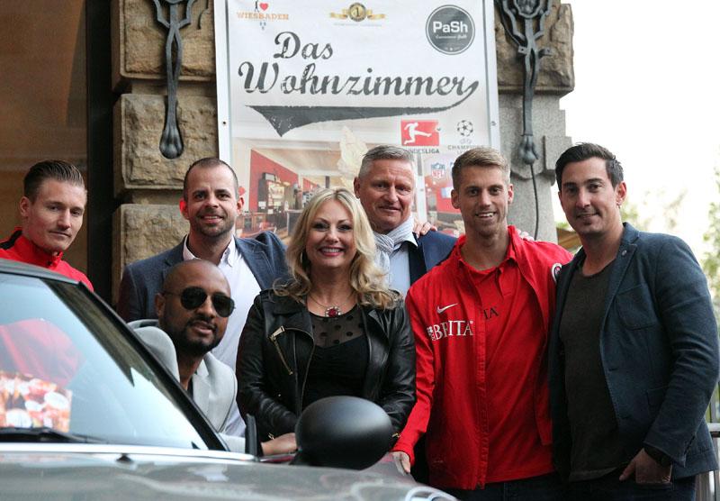Eine Richtig Gute Zeit Hatten Allen Gste Sponsoren Partner Und Freunde Des SV Wehen Wiesbaden Am Donnerstagabend In Das Wohnzimmer Bei Der Ersten SVWW